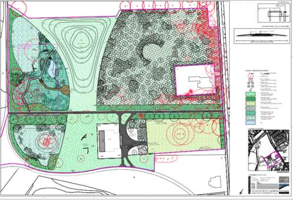 Werk in het park: de planning