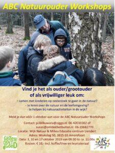 Natuurouder workshops @ Wijk Natuur&Milieu Educatie centrum Liendert