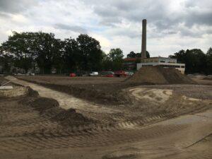 aanleg paden Elisabeth Groen sept 2020